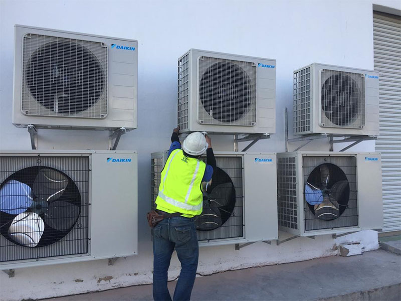 Air Conditioner Installation & Services,aircond,hydraulic,engineering,air conditioning repair,hydraulic services melaka,fabrication assembly,hydraulic repair